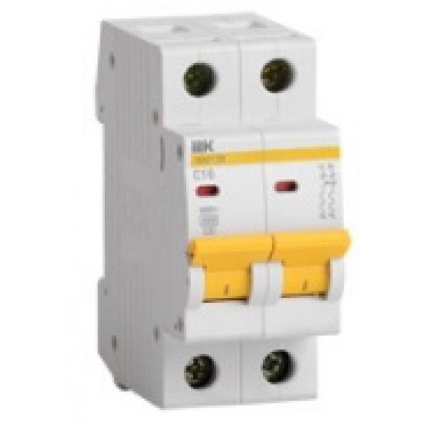 Автоматический выключатель 2-полюсный