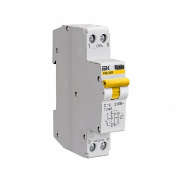 Автоматические выключатели дифференциального тока АВДТ32М