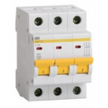 Автоматический выключатель 3-полюсный